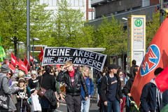 Internationell Workers' Dag 1 Maj 2016, Berlin, Tyskland Arkivfoton