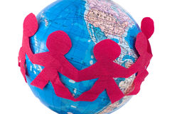 internationella förhållanden Arkivbild