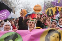 Internationella kvinnors dag Arkivfoto