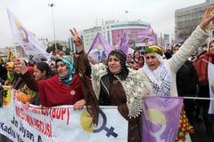 Internationella kvinnors dag Arkivbilder