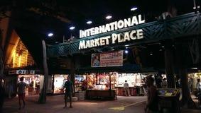 Internationella Market Place Royaltyfri Fotografi