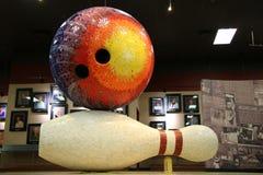 Internationellt bowlingmuseum Arkivfoton