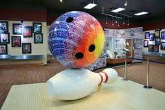 Internationellt bowlingmuseum Arkivfoto