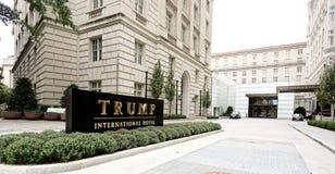Internationellt hotell för trumf formellt den gamla stolpen - kontorspaviljong Washington, D C, Royaltyfri Foto
