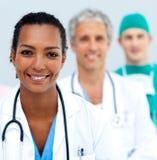 internationellt medicinskt plattform lag Arkivfoton