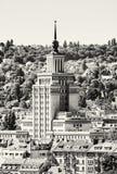 Internazionale dell'hotel, Praga, incolore Fotografia Stock Libera da Diritti