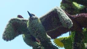 INTERNAZIONALE 2013 di MOSAICULTURES a entrata di Montreal, Quebec, Canada, Montreal: L'albero dell'uccello fotografie stock