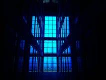 Interne Ansicht eines Gebäudes Lizenzfreie Stockfotografie