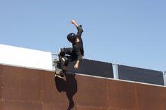 Interne de patin Images libres de droits