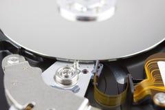 Interne Komponenten des Festplattenlaufwerks Lizenzfreie Stockfotografie