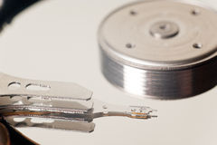 Interne Mechanismus-Hardware der Festplatte Stockfoto