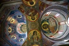 Interne mening in de orthodoxe kerk Royalty-vrije Stock Foto's