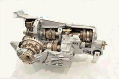 Interne structuur van motor Stock Foto