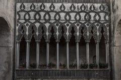 Interner italienischer Hof Stockfotos