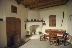 Internes altes Haus Lizenzfreies Stockfoto