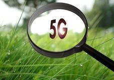 internetåtkomst för radio 5G Royaltyfri Bild