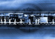 internet 03 zakupy ilustracja wektor