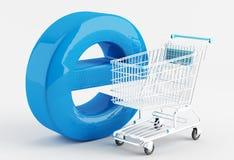 Internet 3 de achat Photo libre de droits