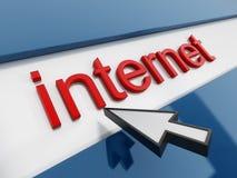 Internet vektor illustrationer