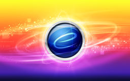 Internet abstract background Royalty Free Stock Images