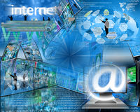Internet Abstract Stock Image
