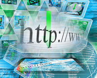 Internet abstract Stock Photos