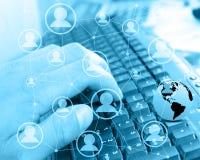 Internet-Abstraktion 04.07.13 Lizenzfreie Stockfotos