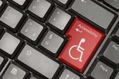 Internet accessibility concept royalty free stock image