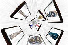Internet ad alta velocità fotografia stock