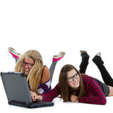 Internet addiction Royalty Free Stock Photos