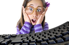 Internet addiction Royalty Free Stock Photo