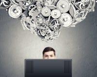 Internet addiction Royalty Free Stock Image