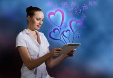 Internet addiction Royalty Free Stock Images