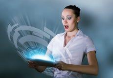 Internet addiction Stock Images
