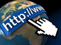 Internet address Stock Images