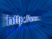 Internet address Stock Photos