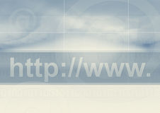 Internet address symbol Royalty Free Stock Photos