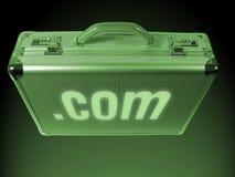 Internet-Aktenkoffer Lizenzfreie Stockfotos