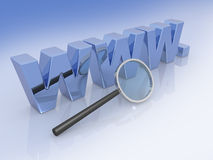 Internet analysis, web analytics Stock Image