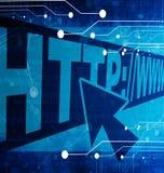 Internet anknyter vektor illustrationer