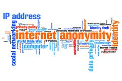 Internet anonymity Stock Photography