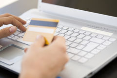 Internet banking Royalty Free Stock Photography