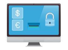 Internet banking Stock Photography
