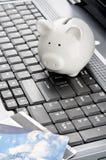 Internet banking imagens de stock