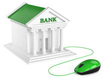 Internet banking account. Concept. Royalty Free Stock Photos