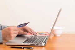 Internet banking em linha fotos de stock royalty free