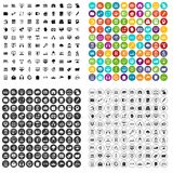 100 internet banking icons set vector variant. 100 internet banking icons set vector in 4 variant for any web design isolated on white Stock Image