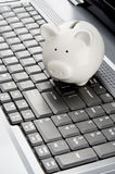 Internet banking Royalty Free Stock Images