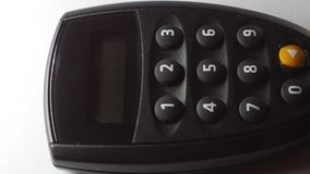 Internet Banking secure pin generator. stock footage