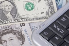 Internet-Bankverkehr Lizenzfreies Stockbild